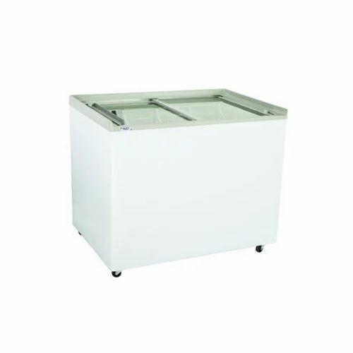 Flat Glass Top Deep Freezer