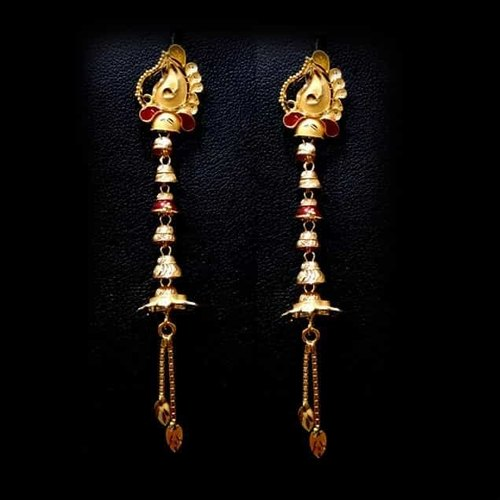 4b21f36b8 Jewels Box 18kt Sui Dhaga Earrings, Approx 15-25 Gm, Rs 5000 /set ...