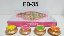 Matki Diya (set Of 12)