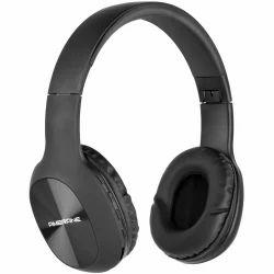 Black Wireless Ambrane Bluetooth Headphone WH-65, 192 Gms