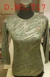 Cotton Plain Designer Ladies Top