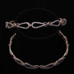 Designer Diamond Bangles For Women