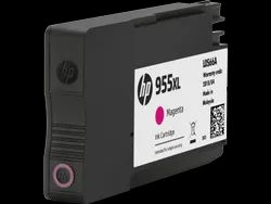 HP 955XL High Yield Magenta Original Ink Cartridge SKU L0S66AA   (1)