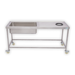SS Single Sink Unit with Garbage