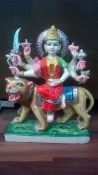 Durga Marble Statues