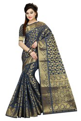 Weaving Women Silk Saree