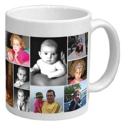 White Photo Mug, for Gifting