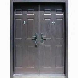Double Door Hinged Stainless Steel Security Door