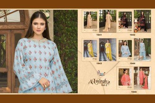 77ea470dff Shree Fabs Almirah Vol 2 Cotton Salwar Suits at Rs 949 /pack ...