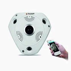 2MP IClear CCTV Fisheye Camera