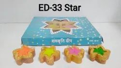Star (set Of 12) Candle