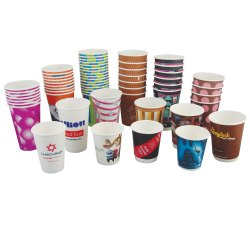 Printed Disposable Paper Cup For Event, Capacity: 100 mL