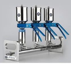 Laboratory Stainless Steel Funnel Vacuum Filtration 3 Way Manifolds