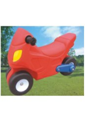 Red Plastic Car, for School/Play School
