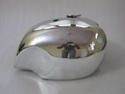 New Bsa A65 Spitfire 4 Gallon Chrome Steel Petrol Tank