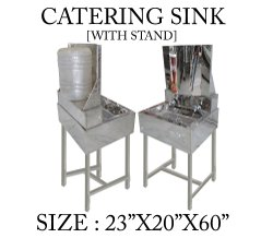 Catering Sink With Stand