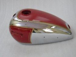 New Ariel 500CC Red Painted Chrome Petrol Tank
