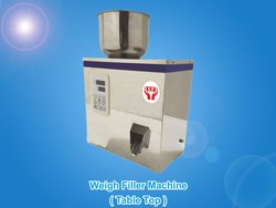 Table Top Weigh Filler Machine