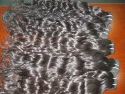 Hair King Unprocessed Natural Indian Human Smooth Wavy Hair