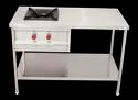 Single Burner Cooking Range with Pantry Table