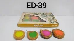 Diya(Janta ) (set Of 12)