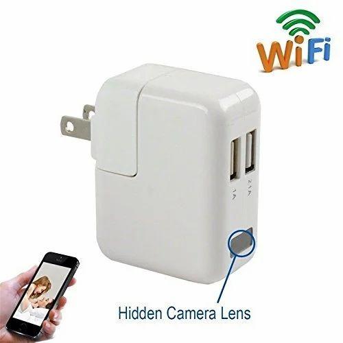 Wifi Hidden Camera Wall Charger Adapter HD Audio Video DV Covert Spy Recorder LK