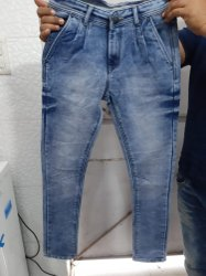 Male Regular Fit Faded Mens Jeans