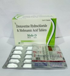 Drotaverine Hydrochloride & Mefenamic Acid Tablet