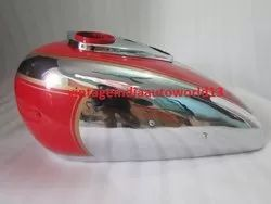 Ariel Square Four Red Painted Chrome Petrol Tank (Reproduction)