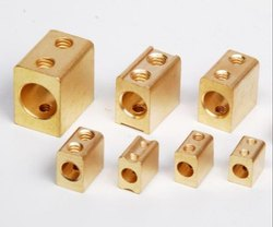 Golden And Silver HDPE Brass Meter Parts