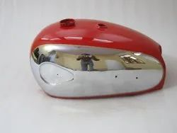 Brand New Bsa A7 A10 Super Rocket Red Painted Chromed Petrol Tank