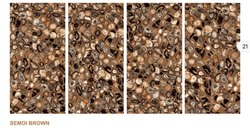Semoi Brown High Gloss Floor Tiles