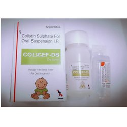 Colistin Sulphate For Oral Suspension I.P