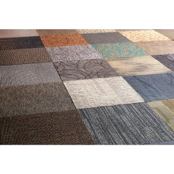 Assorted Porcelain Carpet Tiles, Size: Large, Thickness: 6 - 8 mm