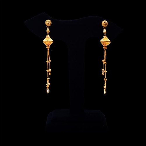 Gold Earrings Gold Jhumka Design Manufacturer From Lucknow