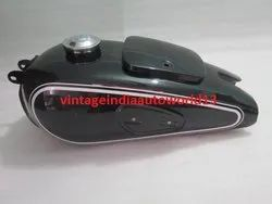 Bmw R71 Black Painted Gas Fuel Petrol Tank Vintage German Motorcycle Reproduction With Cap
