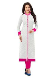 White Color Women Kurti