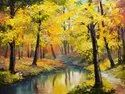 Unframed But Option Available Canvas Printed Forestry Greenary