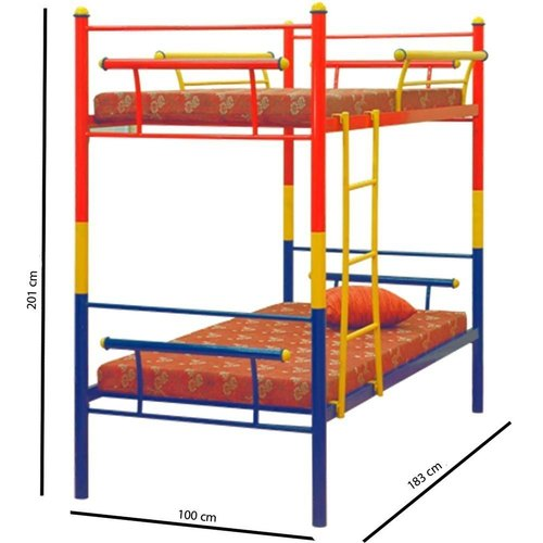 Blue, Red And Yellow SS Kids Bunk Bed