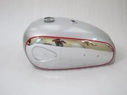 Brand New Bsa A7 A10 Super Rocket Silver Painted Chromed Petrol Tank