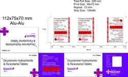 Dicyclomine Paracetamol Tablet