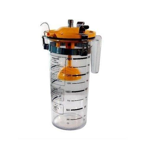 Clip Type Vacuum Jar, for Hospital