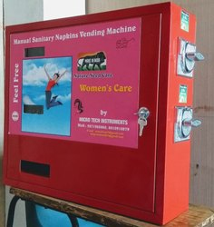 Manual Sanitary Napkin Vending Machine--50 Pads