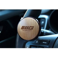 Real Wood Power Steering Knob Korean