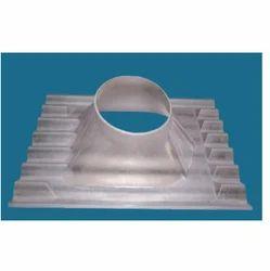 Polycarbonate Ventilator Base Plate, Size: 21 inch & 26 inch