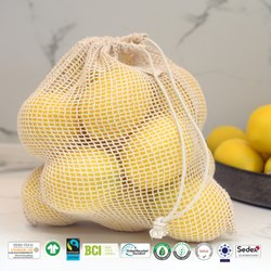 Biodegradable Cotton Mesh Bag