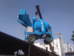 MS Electric RM 1050 Mobile Concrete Mixer, Capacity: 1-3 ton