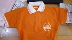 Multicolor Polo Neck Matty T-Shirt