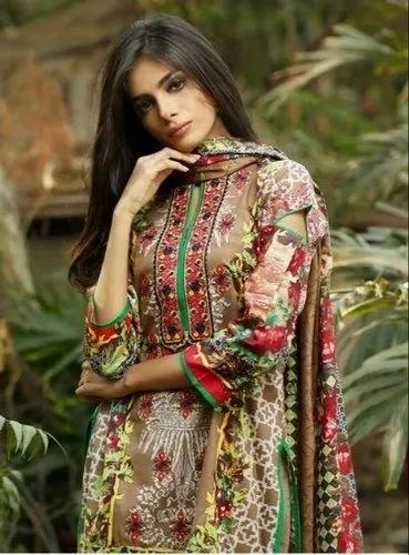 bd5634a880 Pakistani Karachi Cotton Suits, Rs 300 /piece, Maajisa Group | ID ...