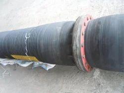 Black Concrete Discharge Rubber Hoses- M.R.I Brand, For Construction,Cement Factory